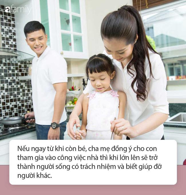 Không cho con làm việc nhà, cha mẹ đã tước đi cơ hội xây dựng nền móng để con trở thành người sống có trách nhiệm trong tương lai-2