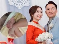 Bà xã rapper Tiến Đạt chính thức công khai con gái mới chào đời, tiết lộ tên thân mật của thiên thần nhỏ