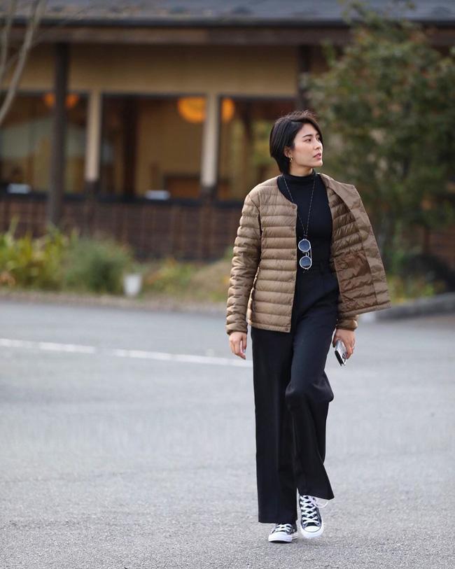 Chiêm ngưỡng những set đồ Đông chất lừ của bà xã dượng Chat, chị em sẽ mong trời lạnh thật nhanh để mặc mốt như cô ấy-5