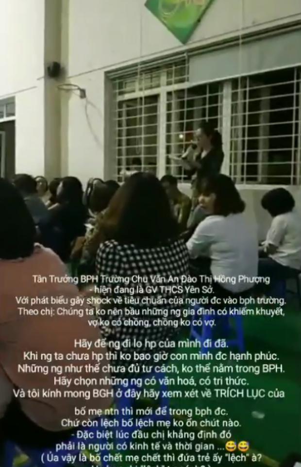 Hội trưởng hội phụ huynh gây phẫn nộ với lời phát biểu sốc vì kỳ thị cha mẹ đơn thân và gia đình nghèo-2