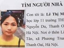 Hà Nội: Con gái đi học thêm mất tích, trên đường đi tìm, mẹ chỉ thấy chiếc xe đạp bên vệ đường