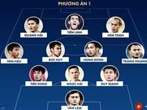 Hai đội hình mạnh nhất của tuyển Việt Nam để đấu UAE
