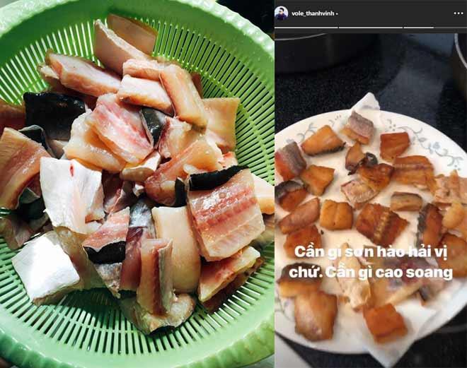 Hoài Linh giấu kỹ bọc thức ăn giữa bàn tiệc toàn vi cá, tôm hùm, mở ra ai cũng thương-12