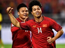 Tuyển Việt Nam vs UAE: Công Phượng tiếp tục dự bị
