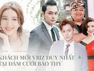 Lộ diện 'full' bộ 5 nghệ sĩ khách mời tại đám cưới Bảo Thy: Ngô Kiến Huy, Thúy Ngân và dàn sao cực thân từ mới vào nghề