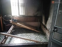 Vụ chồng sát hại vợ mang thai rồi đốt xác tại nhà: Khi phá cửa mới thấy đối tượng chạy ra