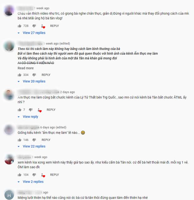 Sau Ẩm thực mẹ làm, bà Tân Vlog tiếp tục bị soi làm clip giống Lý Tử Thất của Trung Quốc?-5