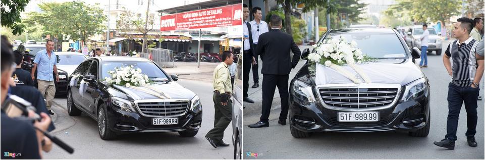 Dàn xe Rolls-Royce, Maybach xuất hiện trong lễ cưới Bảo Thy-5