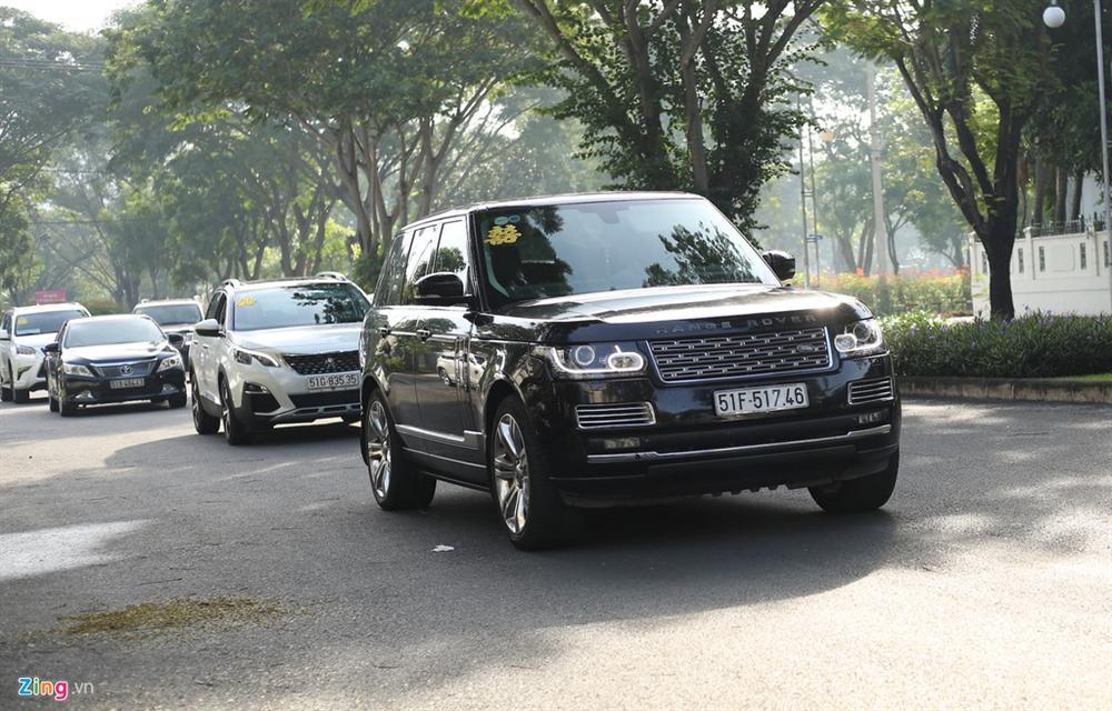 Dàn xe Rolls-Royce, Maybach xuất hiện trong lễ cưới Bảo Thy-8