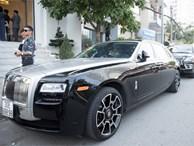Dàn xe Rolls-Royce, Maybach xuất hiện trong lễ cưới Bảo Thy