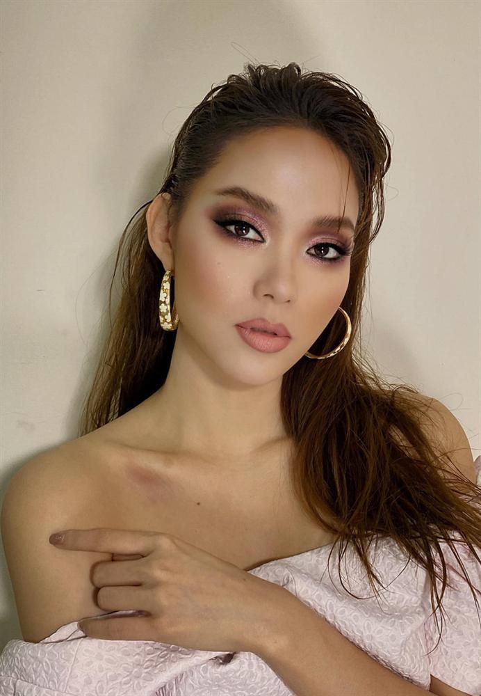 Đu đưa makeup kiểu tây tây, Minh Hằng bỗng hóa... chị ruột Lan Khuê nhưng nhìn thế nào vẫn thấy chút lạc quẻ-2