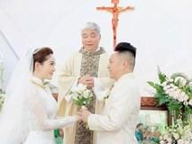 Chia sẻ đầu tiên của Bảo Thy sau đám cưới, xúc động nói về khoảnh khắc tại Nhà Thờ: