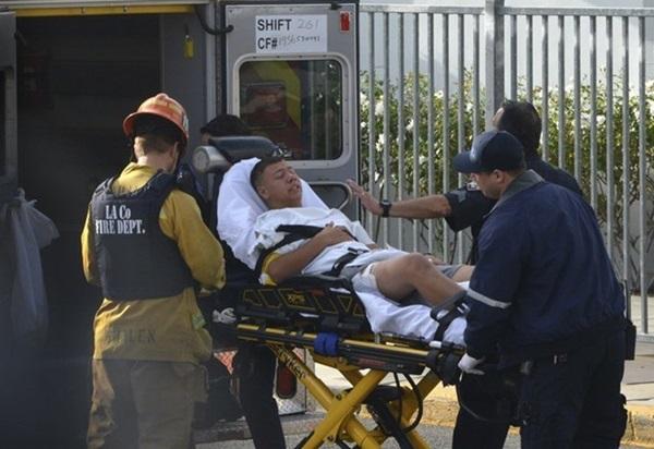 Hiện trường vụ xả súng khiến ít nhất 6 người bị thương tại trường học ở Mỹ-5