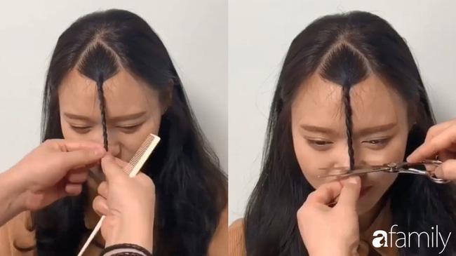 Để không hết hồn khi cắt tóc mái, hãy ghim ngay 3 cách cực hay này-4