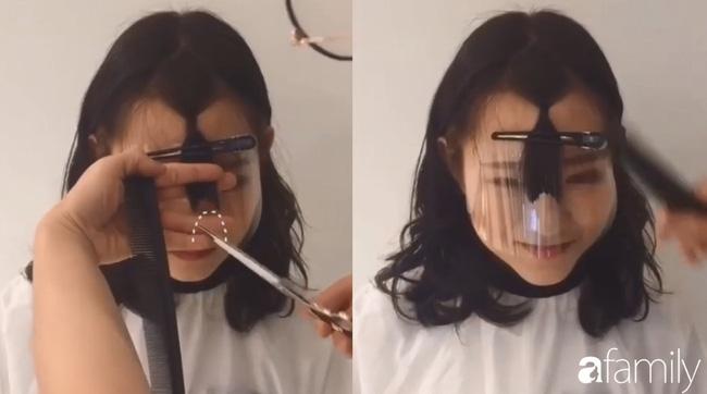 Để không hết hồn khi cắt tóc mái, hãy ghim ngay 3 cách cực hay này-8
