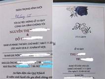 Mất vợ vào tay đại gia nhưng ông chồng không buồn rầu mà rủ bạn đi nhậu ăn mừng, hóa ra nguyên nhân đến từ lời nhắn của vợ cũ viết trên thiệp mời cưới