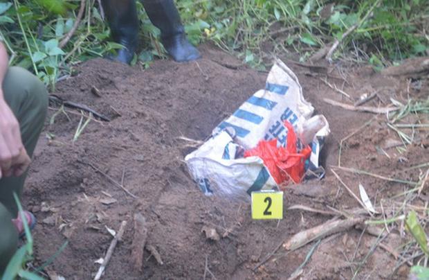 Phát hiện thi thể bé trai nặng 3,1kg bị bỏ rơi tại bãi rác-1