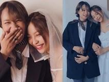 Hậu chia tay Quang Hải, Nhật Lê khoe ảnh áo cưới làm cô dâu, nhưng danh tính