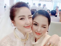 Trang Pilla khoe ảnh với Bảo Thy hậu đám cưới: Chị dâu em chồng thân nhau quá nên giống nhau ghê!