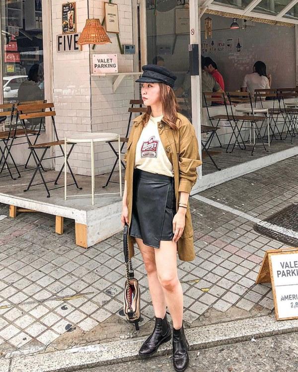 Hết Yoona rồi đến Hà Tăng diện chân váy da, bạn sao có thể kìm lòng trước item sang chảnh hào nhoáng này?-11