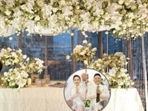 Không gian đám cưới Bảo Thy tại khách sạn 6 sao siêu sang chảnh: Trang trí giản đơn nhưng vẫn toát lên gia thế