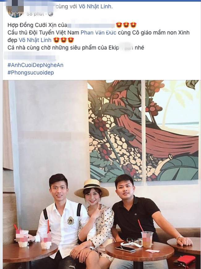 """Không còn nghi ngờ gì nữa: Nhiếp ảnh gia xác thực thông tin chụp ảnh cưới, cầu thủ Phan Văn Đức sắp theo vợ bỏ cuộc chơi""""-3"""