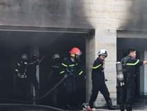 Cháy dữ dội tại tầng hầm biệt thự chứa nhiều ôtô sang của đại gia thép, nhiều tài sản bị thiêu rụi