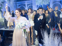 Những khoảnh khắc chưa công bố trong lễ cưới của Bảo Thy