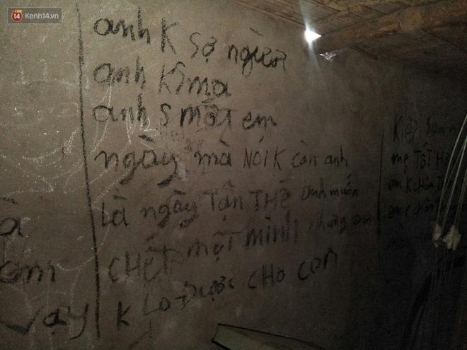 Ám ảnh những dòng chữ nghuệch ngoạc kín tường nhà của người chồng trước khi cùng 2 con treo cổ tự tử: Anh cho em biết thế nào là đau khổ vô tận-4
