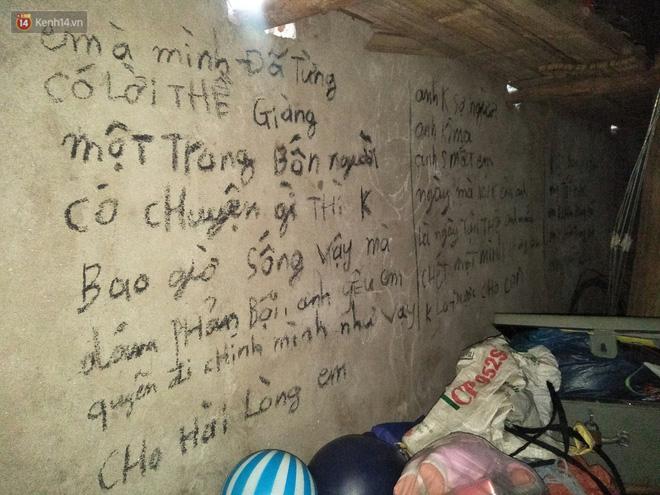 Ám ảnh những dòng chữ nghuệch ngoạc kín tường nhà của người chồng trước khi cùng 2 con treo cổ tự tử: Anh cho em biết thế nào là đau khổ vô tận-5