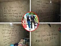 Ám ảnh những dòng chữ nghuệch ngoạc kín tường nhà của người chồng trước khi cùng 2 con treo cổ tự tử: