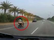 Đi xe máy vào khu vực cấm ở Nội Bài, người phụ nữ thiệt mạng