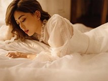 Sau nghi vấn kết hôn, Á hậu Phương Nga hóa nàng thơ trong bộ ảnh mừng sinh nhật