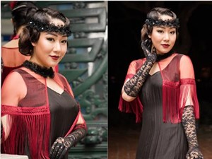 Ngô Phương Lan bất ngờ diễn mở màn show thời trang dù mới sinh con 8 tháng