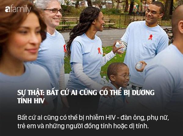 Sống chung với HIV: Những lầm tưởng và sự thật mà bất kì ai cũng nên xem để bảo vệ mình-7