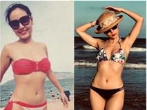 Loạt ảnh bikini nóng 'bỏng mắt' của ca sĩ Phương Linh