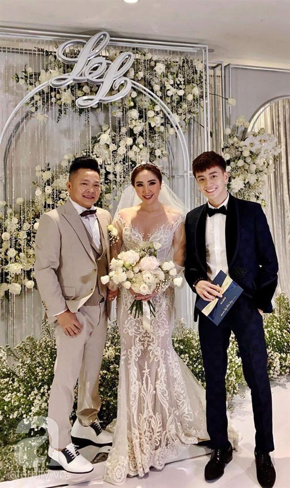 Lịch lãm như soái ca nhưng Ngô Kiến Huy lại để lộ khoảnh khắc đánh mất hình tượng này trong đám cưới Bảo Thy-2