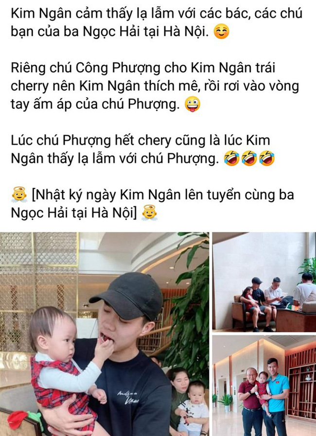 Con gái Quế Ngọc Hải được check-in cùng HLV Park, Công Phượng khiến fan xuýt xoa, ghen tị-2
