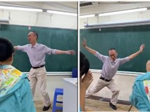 Clip thầy giáo múa phụ họa cho trò hát Bụi phấn gây sốt MXH, điều ấn tượng hơn nữa là profile đỉnh cao của người thầy này