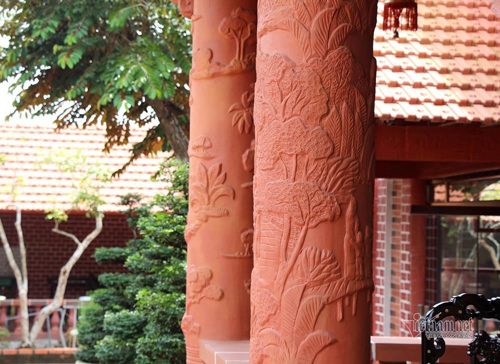 Biệt phủ bằng gốm đỏ có 1 không 2 Việt Nam của đại gia miền Tây-14