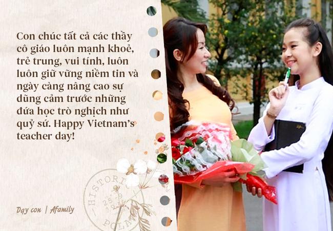 Ngày nhà giáo Việt Nam sắp đến rồi, bố mẹ cùng con bỏ túi 13 câu chúc vừa ý nghĩa, vừa ấm áp dành tặng thầy cô-10
