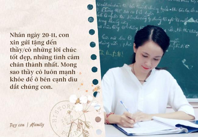 Ngày nhà giáo Việt Nam sắp đến rồi, bố mẹ cùng con bỏ túi 13 câu chúc vừa ý nghĩa, vừa ấm áp dành tặng thầy cô-2