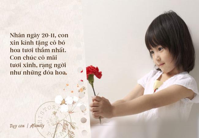 Ngày nhà giáo Việt Nam sắp đến rồi, bố mẹ cùng con bỏ túi 13 câu chúc vừa ý nghĩa, vừa ấm áp dành tặng thầy cô-3