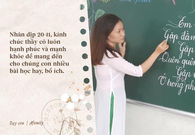 Ngày nhà giáo Việt Nam sắp đến rồi, bố mẹ cùng con bỏ túi 13 câu chúc vừa ý nghĩa, vừa ấm áp dành tặng thầy cô-5