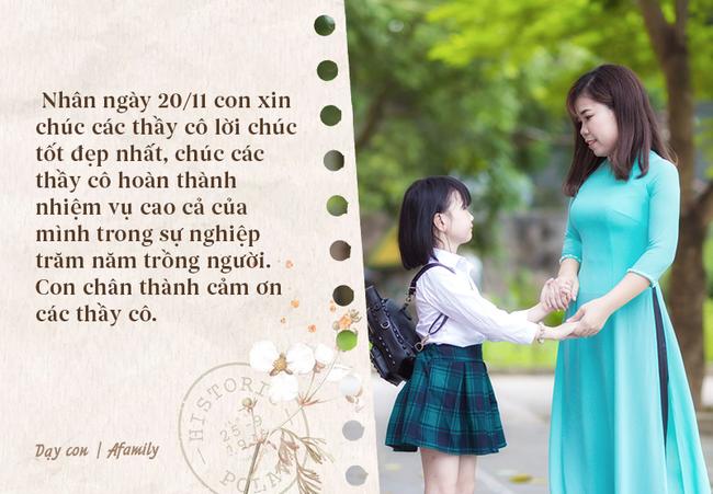 Ngày nhà giáo Việt Nam sắp đến rồi, bố mẹ cùng con bỏ túi 13 câu chúc vừa ý nghĩa, vừa ấm áp dành tặng thầy cô-7
