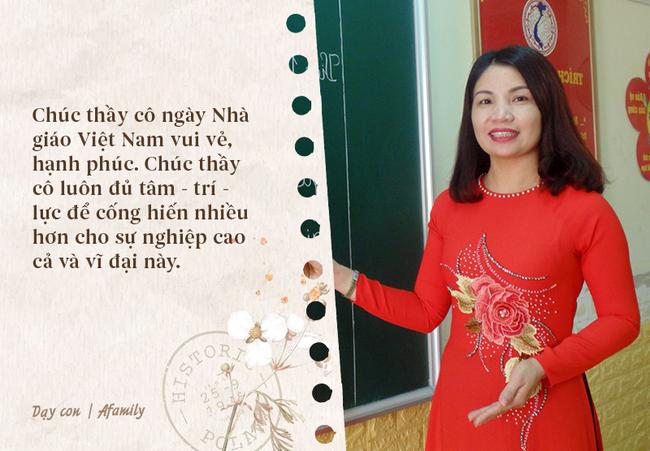 Ngày nhà giáo Việt Nam sắp đến rồi, bố mẹ cùng con bỏ túi 13 câu chúc vừa ý nghĩa, vừa ấm áp dành tặng thầy cô-13
