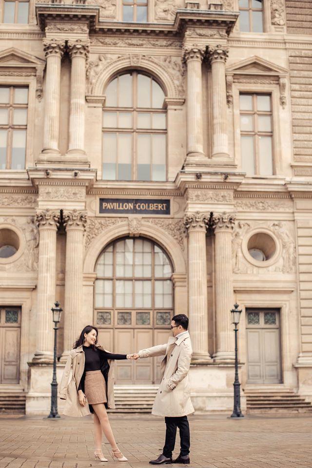 Ảnh cưới của BTV Thu Hà và bạn trai ở Pháp-4