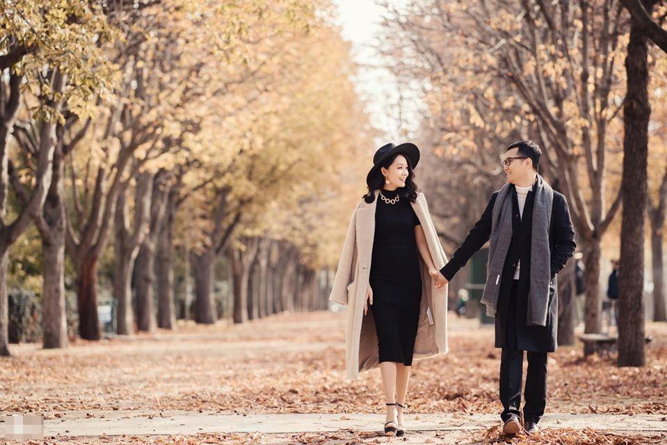 Ảnh cưới của BTV Thu Hà và bạn trai ở Pháp-5