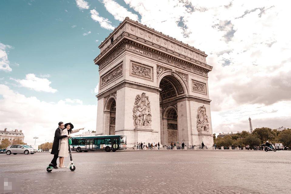 Ảnh cưới của BTV Thu Hà và bạn trai ở Pháp-6