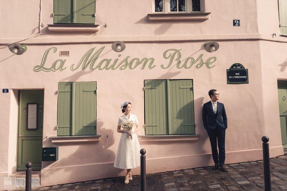 Ảnh cưới của BTV Thu Hà và bạn trai ở Pháp-9